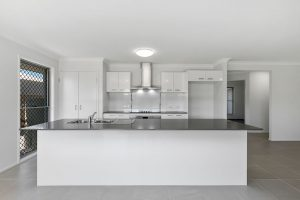 display home kitchen caboolture central springs