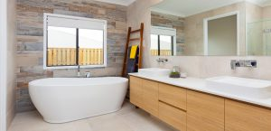 master bathroom gj gardener display home pacific cove