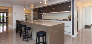 modern kitchen coral homes display home pacific cove