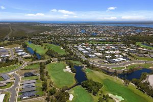 pacific harbour bribie island land for sale island