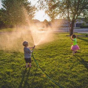 summer hills estate children playing in front yard