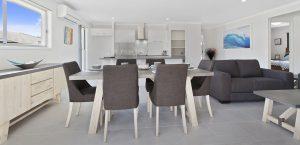 spacious living room dj roberts display home