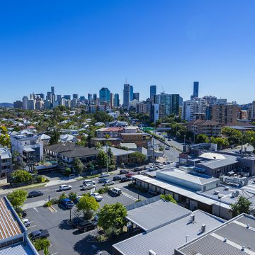 corde residence east brisbane city views