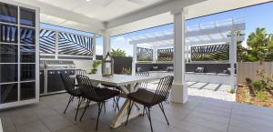 alfresco area abbott builders display home pacific harbour bribie island