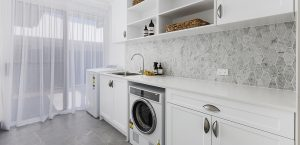 laundry abbott builders display home pacific harbour bribie island