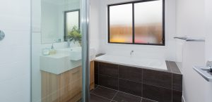 main bathroom stroud homes display home pacific cove
