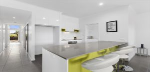 amrock homes display home kitchen