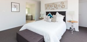 master bedroom visual diversity homes display home pacific cove
