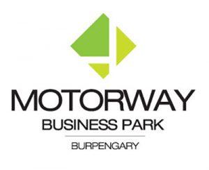 motorway business park burpengary logo