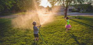 Playing with the garden hose February news