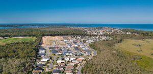 Sandstone Lakes Ningi April News acreage