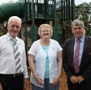 Dawn Andrews Park Opening Central Springs QM Properties Feature