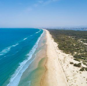 South Stradbroke Island Waters feature Gold Coast